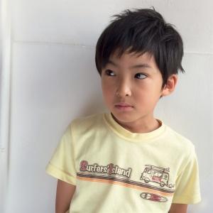 子供×散髪×撮影 キッズカット